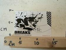 STICKER,DECAL DREAKS SNEAKERS FOR DRUMMERS  B