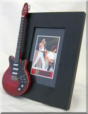 QUEEN Miniature Guitar Frame Freddie Mercury Brian May