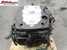 03-05 NISSAN 350Z 3.5L V6 ENGINE 6-SPEED TRANSMISSION LOOM & ECU JDM VQ35DE