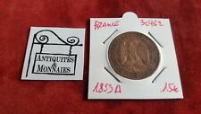 FRANCE - PIECE DE 10 CENTIMES NAPOLEON III 1853 A - REF30762