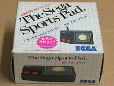 Le Sega Sports Pad SP-500 + Sports Pad Football Mark III/Master System * NEUF *
