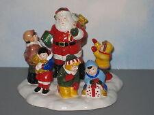 Department 56 Snow Village Accessory Santa Comes to Town Mib
