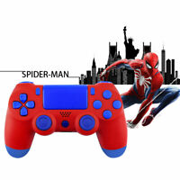 Spider-Man PS4 Slim Pro Controller Shell Case Full Custom Replacement Mod Kit