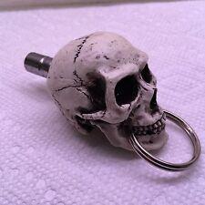 Custom Made in USA Skull Drum Key Ring Skeleton Punk Heavy Metal Percussion 30DK