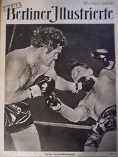 NBI 26/1949 Box-EM Bruce Woodcock - Freddie Mills Griechenland Camilla Spiras
