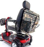 Patriotic RUCKSACK BIG Storage Mega Bag for Scooter Powerchair Military VA J840P