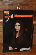 Adult Witch Wig Black Long Hair Halloween Costume Party Long Hair NEW