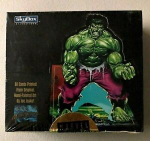 1992 Marvel Masterpieces Factory sealed Box