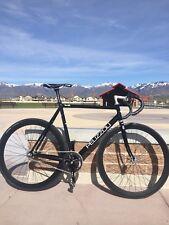 Pelizzoli Leggenda Track Bike Size 54, Black