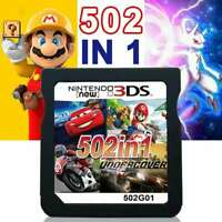 New 502 Games in 1 For Nintendo NDS DS 2DS New 3DS Pack Card Super Cartridge