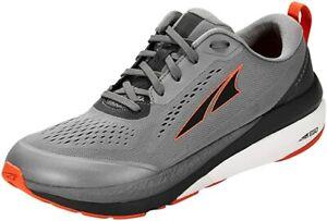 ALTRA Men's Paradigm 5 Running Shoe, Gray/Orange, 10.5 D(M) US
