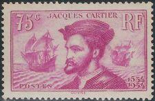 TMM*  1934 France 75c stamp S#296 VF mint/light hinge/old gum