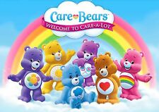 CARE BEARS A3 GLOSSY POSTER