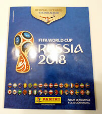 Panini 2018 World Cup Russia Empty Sticker Album ARGENTINA PROMO GIFT Edition