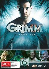 Grimm : Season 6 (DVD, 2018, 4-Disc Set)   New & Sealed