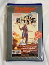 MAD MAX Roadshow Home Video BETA Re-Release 1982 BETAMAX  - NOT VHS - ULTRA RARE