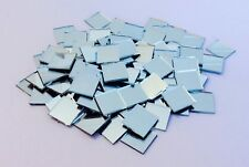 Mosaic Mirror Tiles Craft-2cm x 2cm Square- 50 Pieces per packet- 2mm Thickness