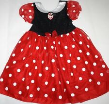 Disney Store Minnie Mouse Costume Girl Size 4/5 Dress Halloween