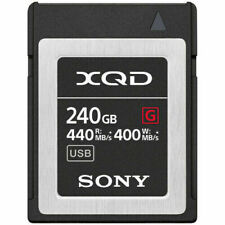 Sony G Series 240GB - XQD Memory Card - (QDG240F)
