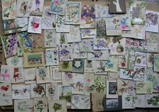More details for 75 victorian/edwardian greeting cards