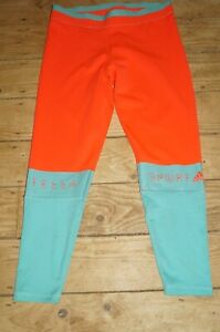 Adidas Stellasport Long Gym Leggings Stella McCartney Tight Mesh Yoga Pants M