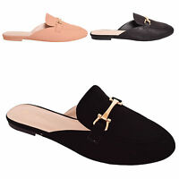 LADIES WOMENS LOAFERS FLAT SHOES SLIP ON WORK SCHOOL CASUAL SIZE 3 4 5 6 7 8