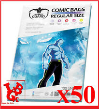 Pochettes Protection REGULAR Size REFERMABLES comics VO x 50 Marvel # NEUF #