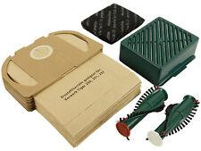 20 Staubsaugertüten Beutel  geeignet für Vorwerk Tiger 251 Bürsten + Hepa Filter