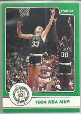 LARRY BIRD 1984 STAR COMPANY Boston Celtics BASKETBALL CARD #12