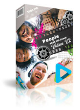 """Hd (1080) Royalty Free Stock Footage Videos """"People"""" on DvD-Rom"""
