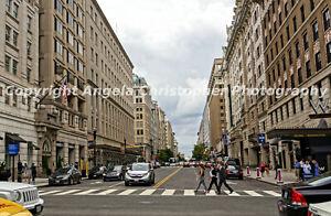 "Original ACEO 2.5x3.5"" photo art print WASHINGTON D.C. CITYSCAPE downtown urban"
