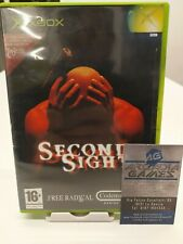 Xbox Second Sight PAL ottime condizoni average conditions