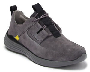 NIB -  Cole Haan Grandsport Apron Toe Leather Men Sneakers gry
