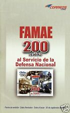 CHILE, 200th. ANNIV. FAMAE CHILE BROCHURE, YEAR 2011