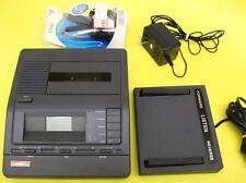 LANIER VW 110 Cassette Transcriber 2 speed playback, ac, pedal, headset WARRANTY