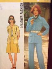 Simplicity Sewing Pattern 5588 Ladies / Misses Skirt Pants Jacket Size 14 Cut