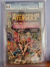 Avengers #12 CGC 8.5 Classic Kirby cover
