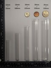 50 Count 25 X 150 Mm Extra Large Glass Culturetest Tubes