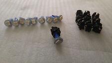 10x Blue SMD LED & Sockets Dash Instrument Panel Light Bulb T5 73 74 Fits Dodge
