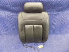 1996-1999 Cadillac DeVille Passenger Front Bucket Seat Back Black Leather