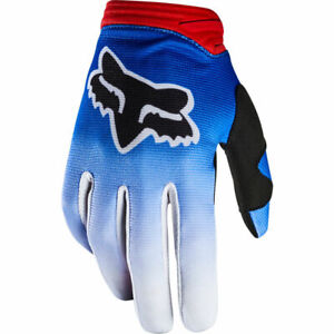 Fox Womens DirtPaw Fyce Glove Adult MX ATV Motorcycle Blue Red Gloves 20561-149