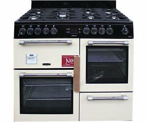 Leisure Cookmaster 110cm Dual Fual Range Cooker CK110F232C Cream 2 Ovens #1657