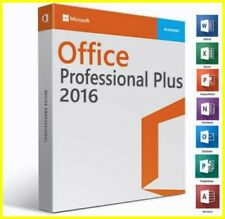 MICROSOFT®OFFICE®2016 PROFESSIONAL PLUS 32/64-bit License Key