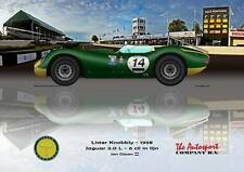 Print on Canvas Lister Knobbly 1958, English Circuit 180 x 120
