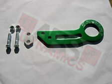 Brand New Datum1 Rear Tow Hook Green Aluminum for Civic Delsol Integra Rsx