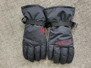 NWOT SPYDER Transverse Insulated Ski & Snowboard Gloves Black Mens L/XL