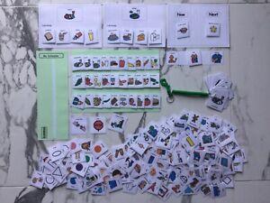 PECS/Boardmaker GOLD Card Set card for autism/ ASD/ADHD/stroke/SEN/Aspergers