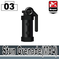 Stun Grenade (W203) M84 compatible with toy brick minifigures SWAT ARMY