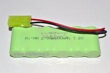 H0061 Batteria NI-MH 7,2V 600MAh per modelli 1/18 VRX 1pz