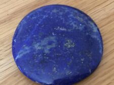 Lapis Lazuli Circular Palmstone Crystal Healing, Healing